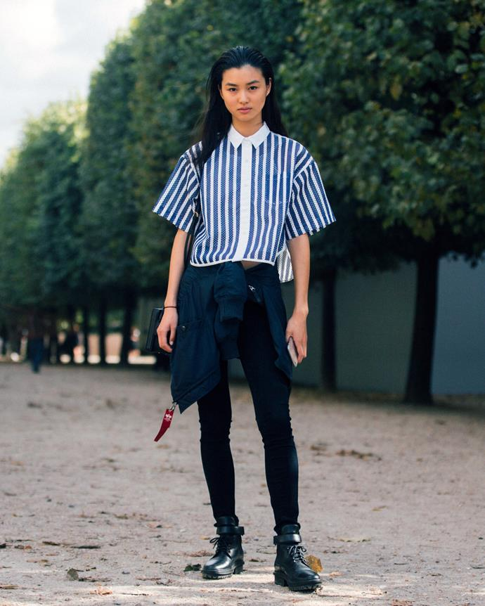 **TIGER: 1950, 1962, 1974, 1986, 1998** <br> ***Style icon: Estelle Chen*** <br><br> What some cosmic signs lack in sartorial bravery, those born in the Year of the Tiger will do all the experimenting for them. Chinese Victoria's Secret model (and Tiger-born) Estelle Chen's eccentric street style is emblematic of her zodiac sign, and whether formal or not, she always nails the brief.