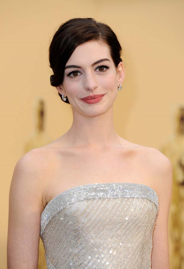 "***Anne Hathaway***<Br><br> Actress Anne Hathaway revealed on *Ellen* that she's quit drinking for the next 18 years. ""I quit drinking back in October, for 18 years,"" said Hathaway. ""I'm going to stop drinking while my son is in my house just because I don't totally love the way I do it and he's getting to an age where he really does need me all the time in the mornings."""