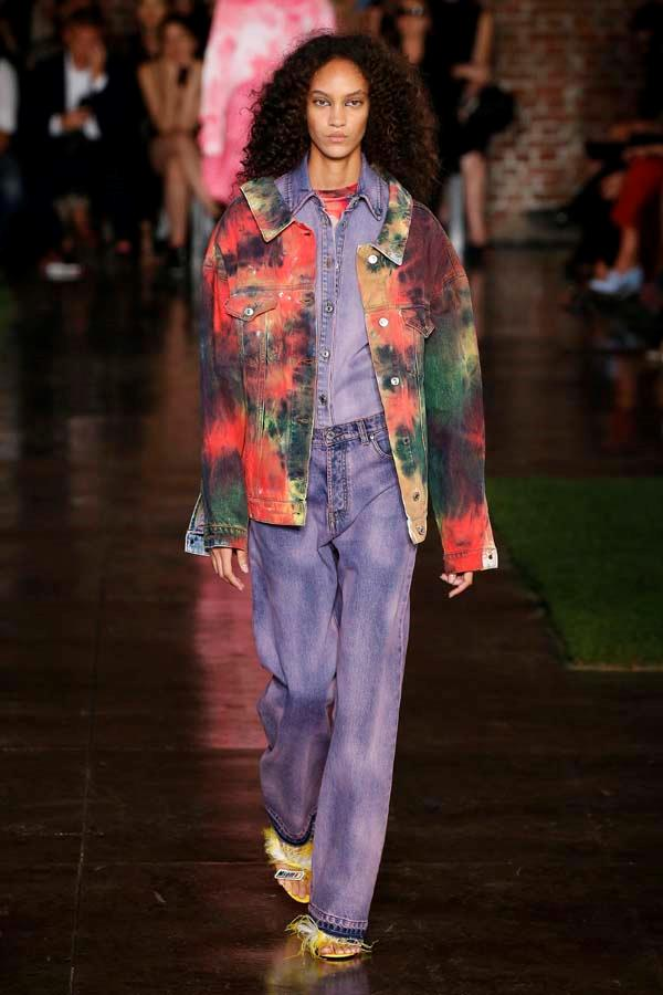 *Dip Dye*<br><br> Whether DIY or designer-bought, tie-dye is back on our radar. <br><br> As seen at: MSGM.