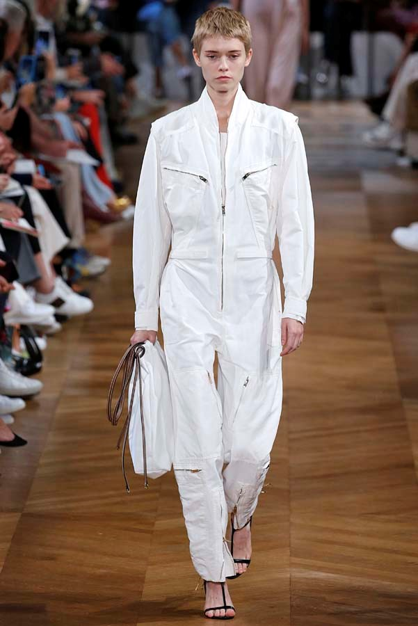 *Boilersuits*<br><bR> Why agonise over separates in the morning rush? A denim boilersuit is the perfect throw-on-and-go option. <br><bR> As seen at: Stella McCartney.