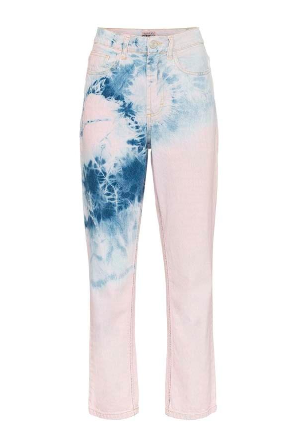 "*Dip Dye*<br><br> Jeans by Ashley Williams, $175 at [Farfetch](https://www.farfetch.com/au/shopping/women/ashley-williams-high-waisted-tye-dye-jeans-item-13089170.aspx?storeid=9359 target=""_blank"" rel=""nofollow"")."
