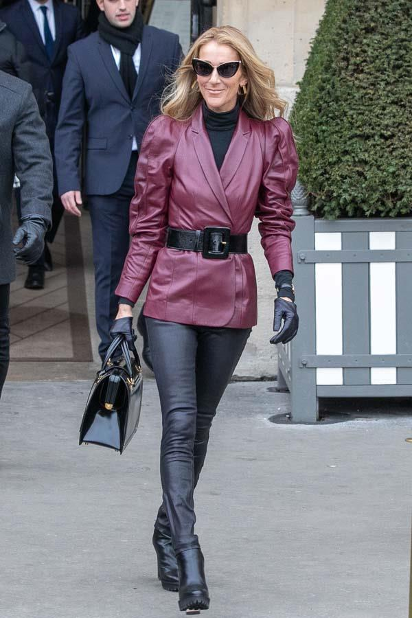 Out and about in Paris.