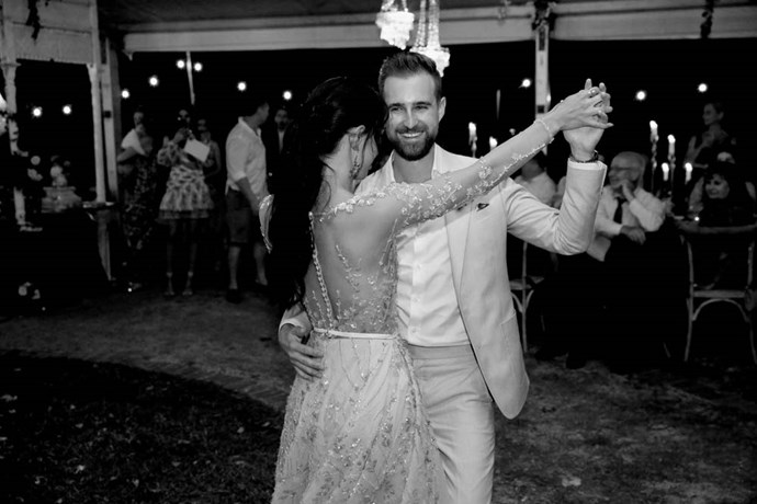 "**What song did you and your husband dance to?** We did our first dance to ""All Your Love"" by Flight Facilities."