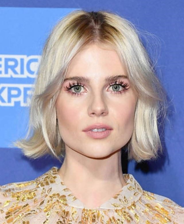 """**ICE BLONDE** <br><br> """"Ice blonde also has a place, with the emergence of this forever shade being tinged with a touch of pale pink or lavender to keep it super up-to-date,"""" Reynolds says. """"Again, with as much shine as possible to keep the tones illuminated and flattering. Flat pale grey is NOT the order of the day and looks dated right now."""""""