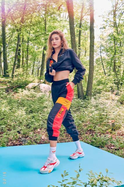 Gigi Hadid for Reebok.