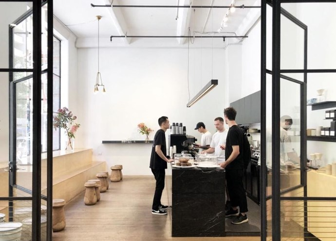 """**[Skittle Lane](https://skittlelane.com/ target=""""_blank"""" rel=""""nofollow"""")** <br><br> **Location:** CBD <br><br> With sky-high weddings and clean lines, this architectural CBD cafe is one for those who like their morning coffee with zero fuss and maximum style. <br><br> [@skittlelanecoffee](https://www.instagram.com/skittlelanecoffee/?hl=en target=""""_blank"""" rel=""""nofollow"""")"""