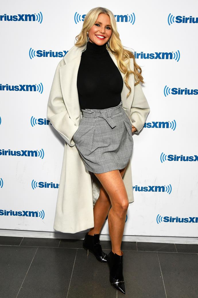 Christie Brinkley on January 5, 2019.