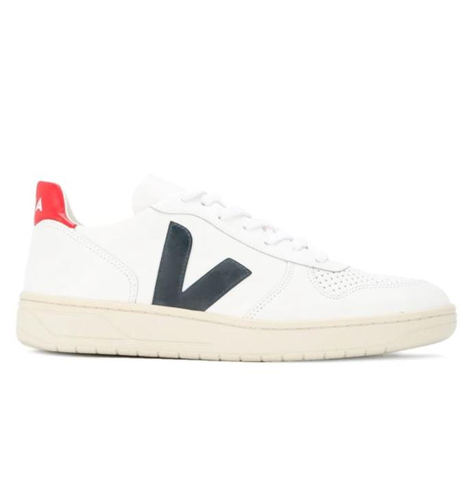"***#1: Veja V-10 Sneakers*** <br> Lyst cites Meghan Markle, the Duchess of Sussex, as one of the reasons Veja's sneaker range has spiked in popularity (the Duchess of Sussex wore a pair on her tour of Australia in October 2018). Coupled with their affordable price, we're hardly surprised about their surge in popularity over the past year. <br><br> *Veja V-10 sneakers, $203 at [Farfetch](https://www.farfetch.com/au/shopping/men/veja-v-10-sneakers-item-13077038.aspx?storeid=9709|target=""_blank""