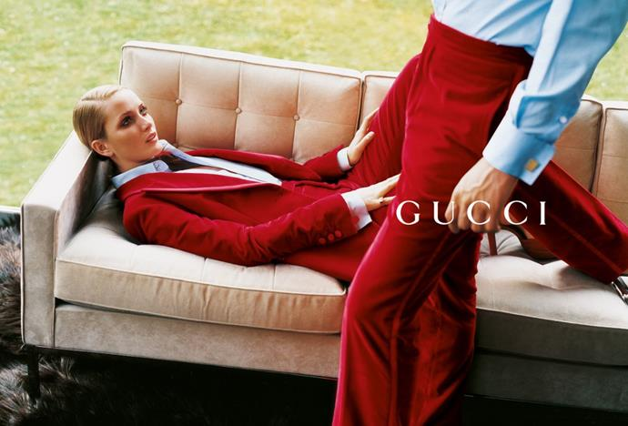 Gucci autumn/winter '96, photographed by Mario Testino.