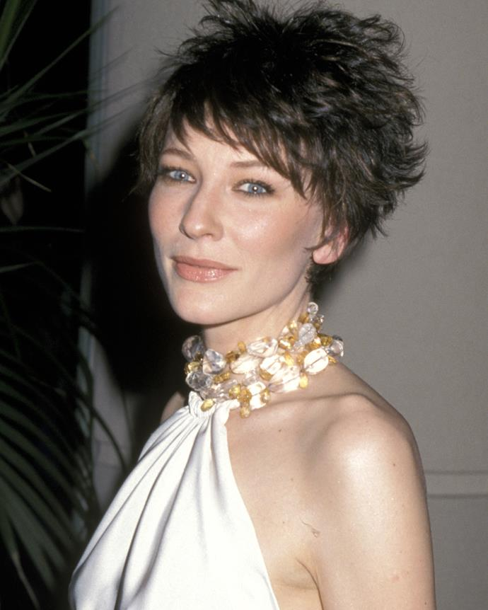 Blanchett at the 15th Annual American Cinematheque Ball in 2000.