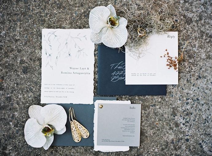 The invitations.