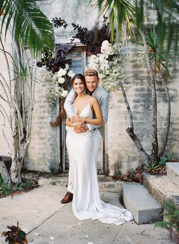 **Was there anything the groom was particularly keen on including in the wedding?** Wayne is very laid back and casual guy. He literally left it in Romi's capable hands. He did insist that the catering would include some food from Uruguay for Romi which was a surprise for her.