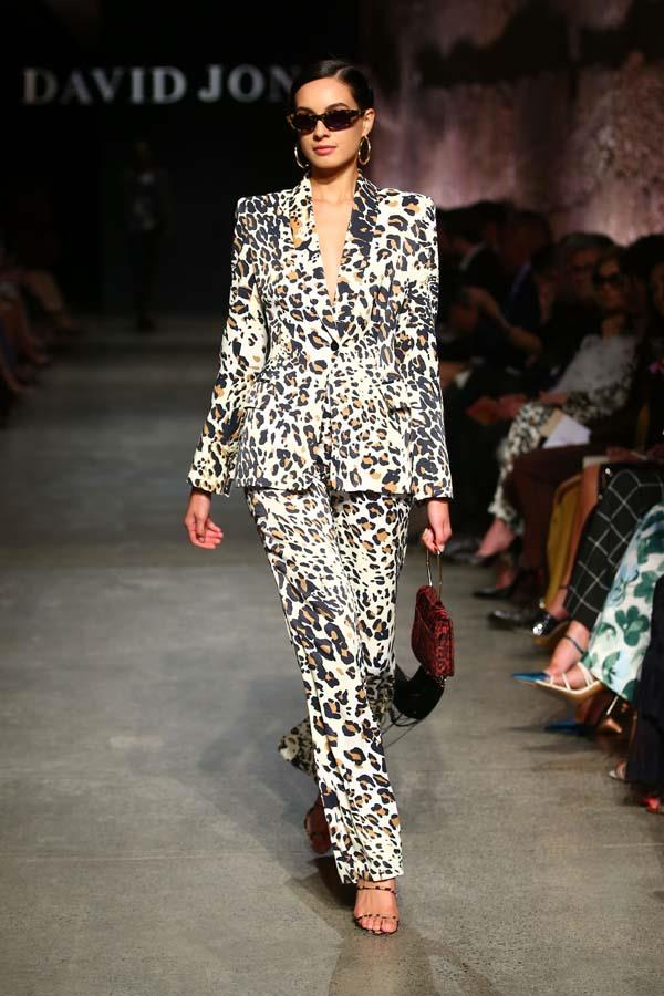 ***Thou Shalt Lean Into Leopard***<br><bR> Animal print may have played a supporting role last season in the form of accessories and separates, but this winter, leopard is taking centre stage. Follow Kate Spade's lead and pick one statement-making blouse or pant, or go the way of Zimmermann and wear it head to toe… if you dare.<br><bR> Pictured: Carla Zampatti autumn/winter '19.