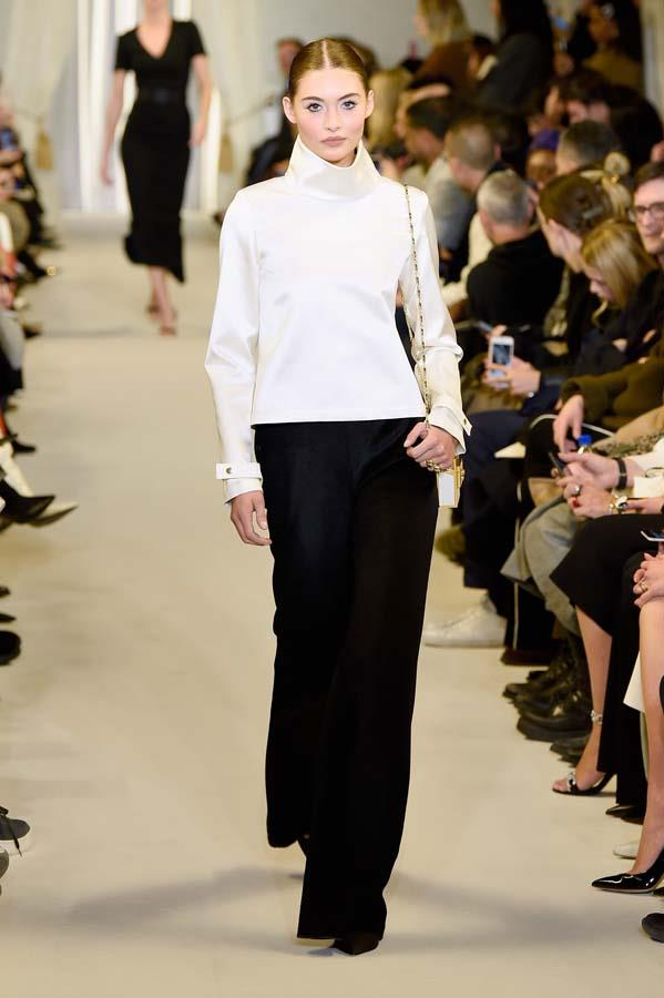 ***Thou Shalt Go Full Coverage***<br><br> Skip the flash of ankle or daring side cut-out and embrace this winter's cosiest trend: full coverage clothing. Pair full-length sleeves, floor-length hems and maximum layering to achieve the full effect.<br><br> Pictured: Brandon Maxwell autumn/winter '19.