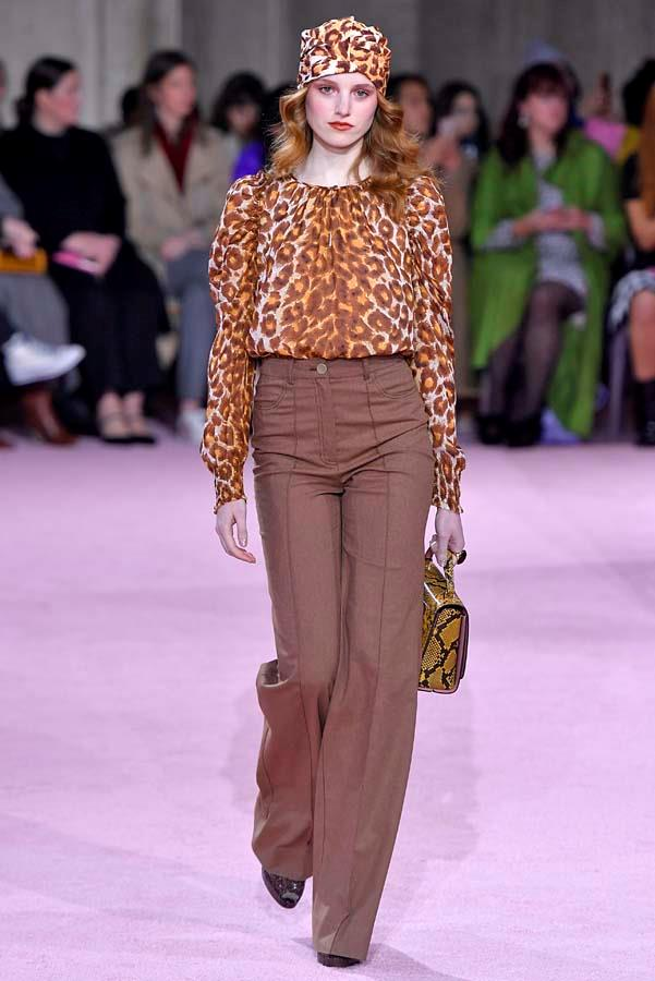 ***Thou Shalt Lean Into Leopard***<br><bR> Animal print may have played a supporting role last season in the form of accessories and separates, but this winter, leopard is taking centre stage. Follow Kate Spade's lead and pick one statement-making blouse or pant, or go the way of Zimmermann and wear it head to toe… if you dare.<br><bR> Pictured: Kate Spade autumn/winter '19.