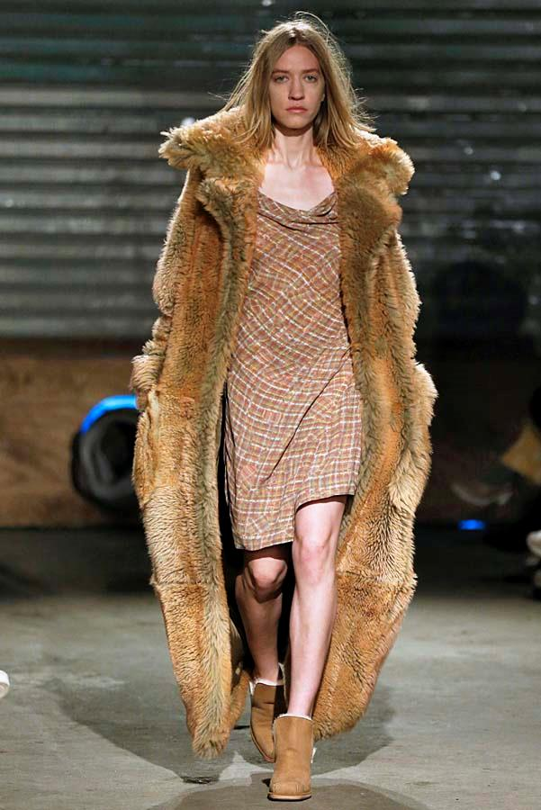 ***Thy Coat Shalt Be Supersized***<br><br> Gone are the days of the sleek duster or the dainty trench, this winter coats must be at full capacity. Think Tom Ford's ultra-luxe teddy, Eckhaus Latta's vintage-esque iteration, or Ulla Johnson's padded corduroy. Subtlety need not apply.<br><br> Pictured: Eckhaus Latta autumn/winter '19.