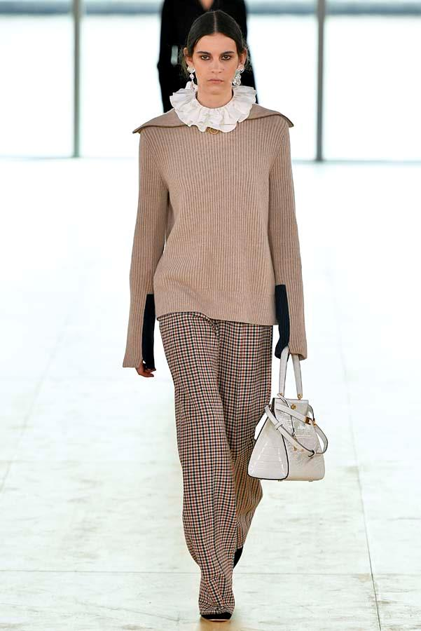 ***Thou Shalt Go Full Coverage***<br><br> Skip the flash of ankle or daring side cut-out and embrace this winter's cosiest trend: full coverage clothing. Pair full-length sleeves, floor-length hems and maximum layering to achieve the full effect.<br><br> Pictured: Tory Burch autumn/winter '19.