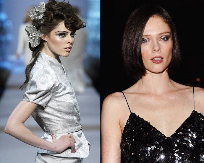 ***Coco Rocha*** <br> If you didn't already know, 30-year-old Canadian model Coco Rocha has a history in Irish dancing, and was discovered at an Irish dance competition. <br><br> Dance still has a place in Rocha's heart, and in 2007, she Irish danced on the runway for French designer Jean-Paul Gaultier.