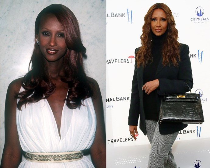 ***Iman*** <br> 63-year-old Iman's family moved away from her native Somalia when she was a child, and she was discovered by a photographer while attending university in Nairobi, Kenya. <br><br> Aside from being commonly regarded as the first black supermodel, Iman has walked the runways for countless labels, and famously appeared in the music video for Michael Jackson's 'Remember The Time'. She was also married to the late David Bowie, and the two share a daughter, Lexi Jones.