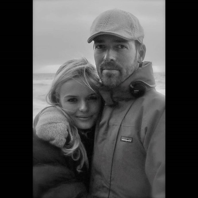 """***Kate Bosworth*** <br> """"This photo was taken before we were together - which helps me to understand we've been together forever whether we knew it or not ... Happy Valentine's My Valentine ❤️ I LOVE YOU. XO"""" <br><br> *Image: [@katebosworth](https://www.instagram.com/p/Bt3p4wZnCzN/ target=""""_blank"""" rel=""""nofollow"""")*"""