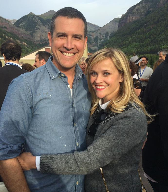 "***Reese Witherspoon*** <br> ""Love my Valentine! ❤️ #9years of love and putting up with all my picture taking"" <br><br> *Image: [@reesewitherspoon](https://www.instagram.com/p/Bt3kSbuDhCg/