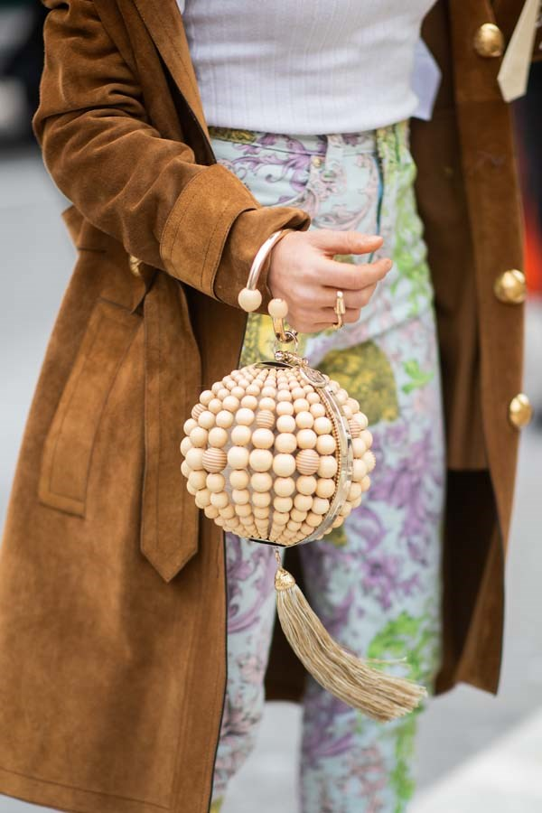 *Round Minaudières*<br><br> They might be a touch impractical for your square-shaped belongings, but round bags are the cutest accessory to wear this season.