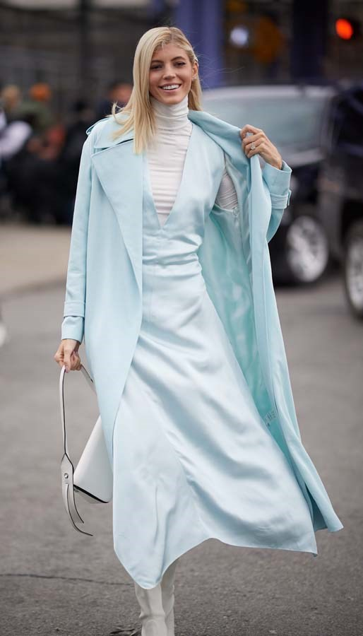*Ice Blue*<br><br> Move over, Millennial Pink. Icy blue is the new blue du jour.
