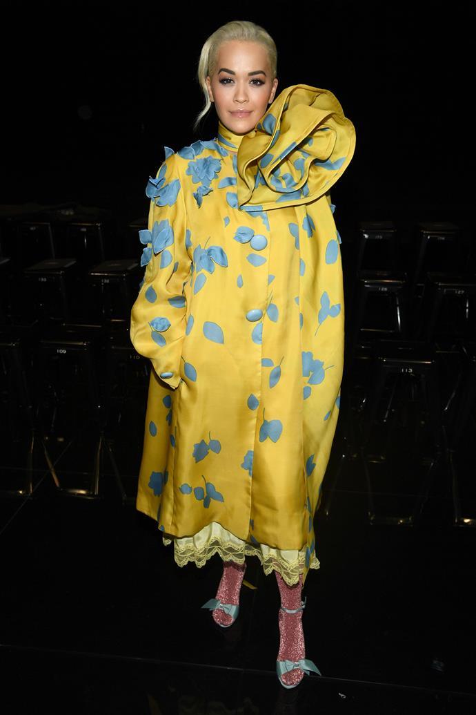 Rita Ora at Marc Jacobs.