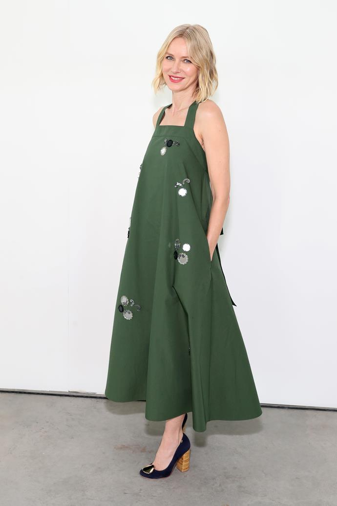 Naomi Watts at Tory Burch.