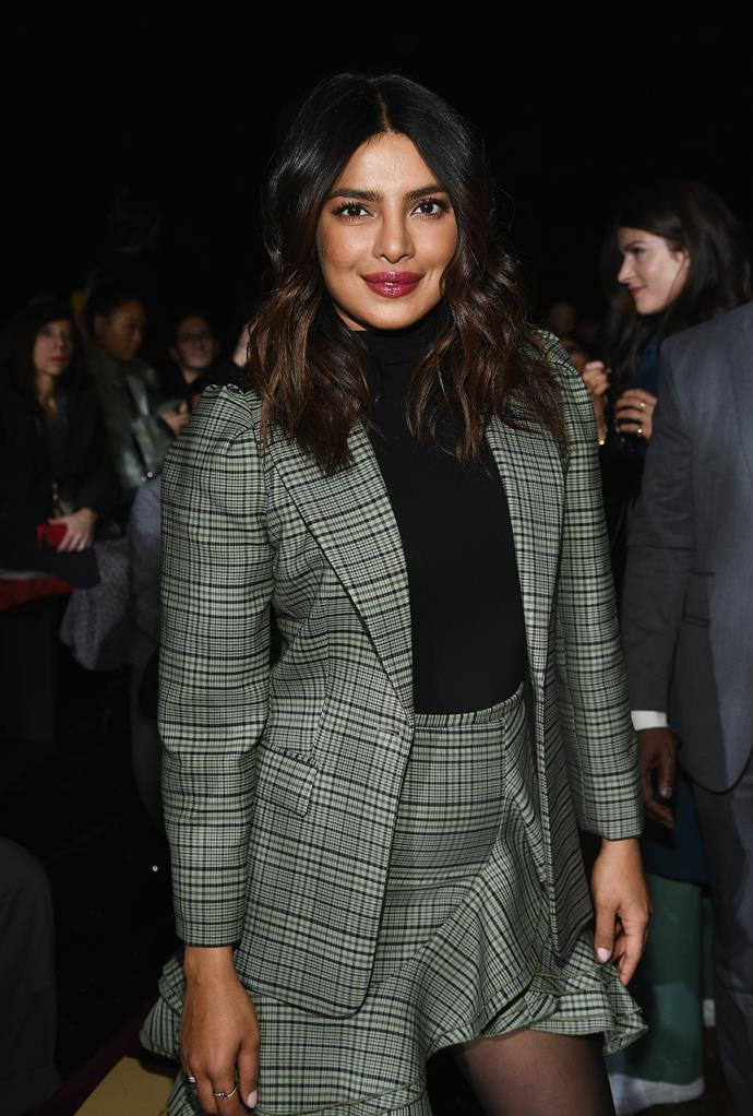 Priyanka Chopra at Michael Kors.