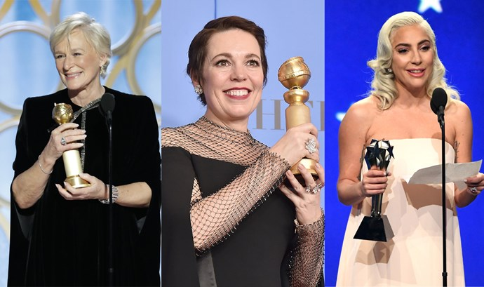 ***Actress in a Leading Role*** <br><br> Though Olivia Colman was exquisite in *The Favourite* and Gaga gave the performance of a lifetime in *A Star Is Born*, many feel Glenn Close is overdue for an Academy Award (she's been nominated four times in the past), and deserves one for her performance in *The Wife*. A surprise win could happen for Gaga, but Close has won the most awards this season, and therefore is the most viable pick. <br><br> **Most likely to win:** Glenn Close for *The Wife*