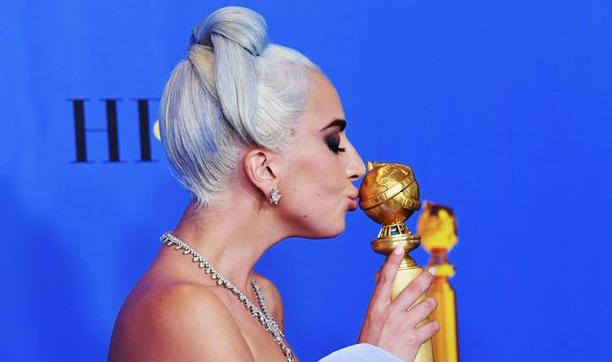 ***Best Original Song*** <br><br> There's only one real winner in this category. Gaga has picked up the award for Best Song at almost all other award ceremonies this season, so she's a shoe-in to win for her chart-topping song 'Shallow', from the *A Star Is Born* soundtrack. It would also make up for her loss of the 2016 Best Original Song award to Sam Smith, which some called an unfair snub. <br><br> **Most likely to win:** 'Shallow', performed by Lady Gaga and Bradley Cooper, from *A Star Is Born*