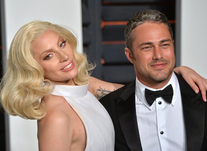 Gaga and her ex-fiancé, Taylor Kinney, in 2016.