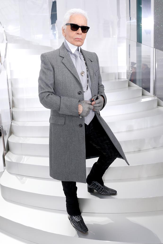 Lagerfeld in 2014.