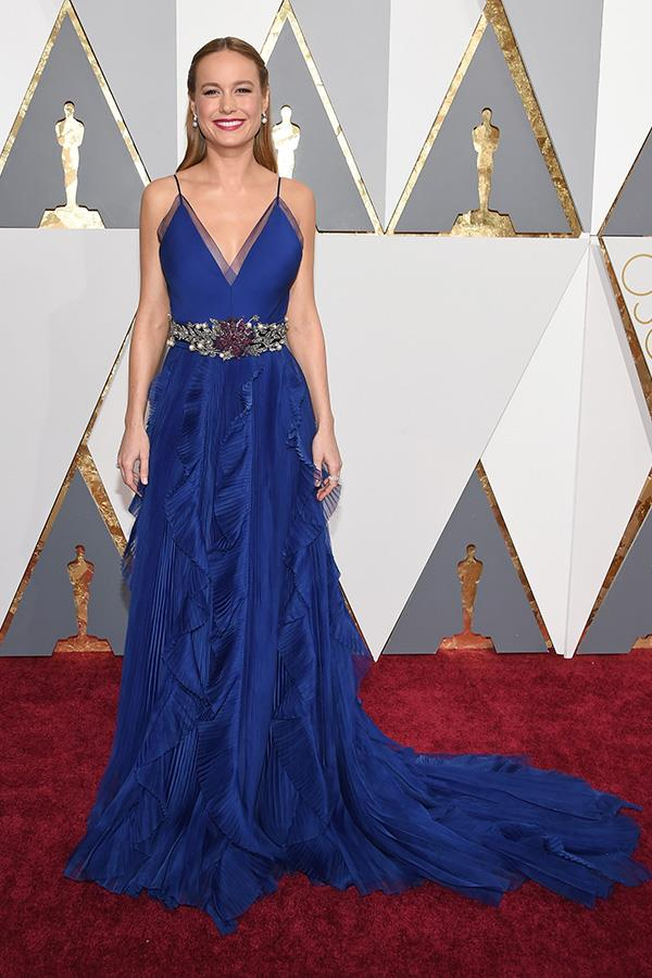 **ACQUARIUS** <br>Your colour: Blue <br>As an air sign, Acquarius-borns are drawn to silver and blue, like Brie Lawson's Gucci dress. Their intellect and energy makes them stylish, original dressers.