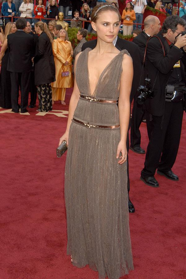 **VIRGO** <br>Your colour: Earth tones <br>Kind, reserved and methodical,Virgo's grounded nature leads them to earthy, understated tones and elegant silhouettes like Natalie Portman's gorgeous Lanvin dress.