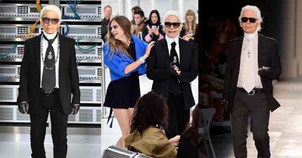 4123050da7695 Why Karl Lagerfeld Wore The Same Suit And Outfit