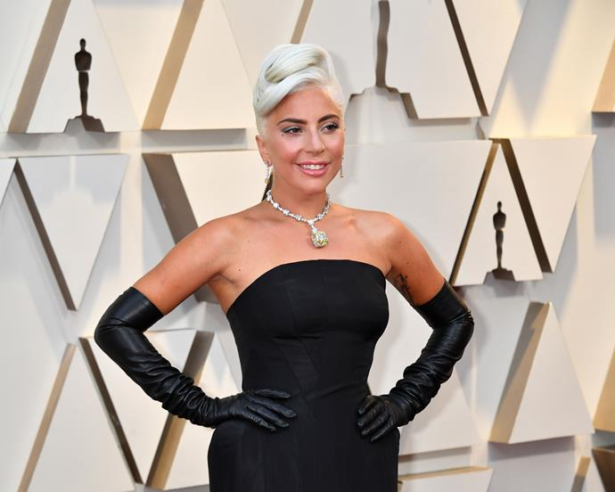 Lady Gaga at the 2019 Academy Awards on February 24, 2019.