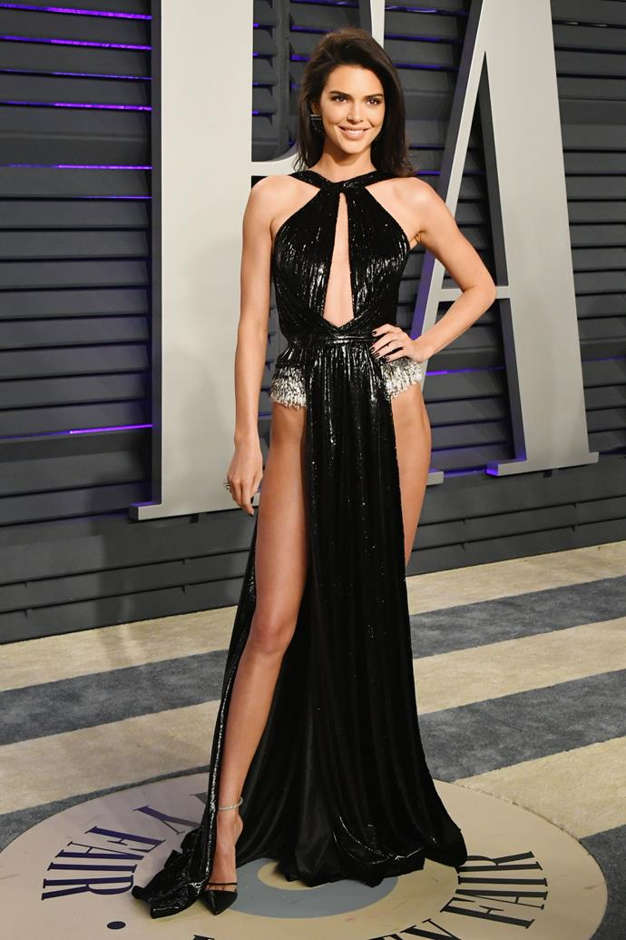 Jenner at the Vanity Fair Oscars Party on February 24, 2019.