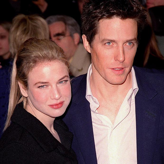 With Hugh Grant in 2001.