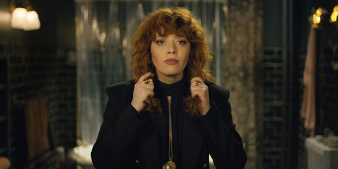 ***Russian Doll*** <br><br> This black comedy series follows a young woman named Nadia (Natasha Lyonne) on her journey as the guest of honour at a seemingly inescapable party one night in New York City. Think *Groundhog Day* but gloomier.