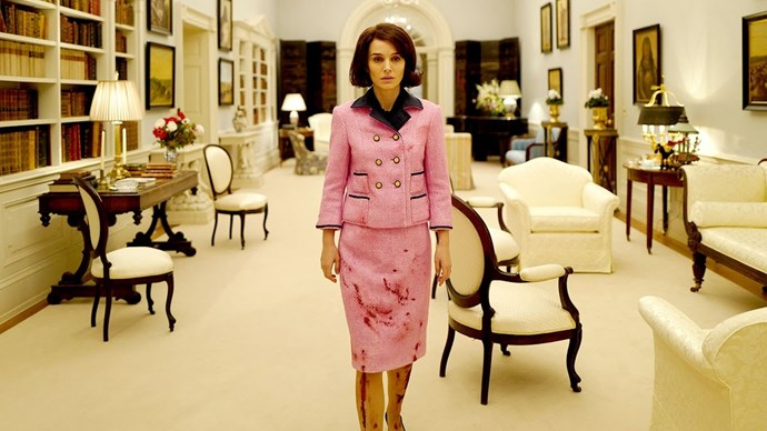 ***Jackie* (from 20/3/2019)** <br><br> Following the assassination of President John F. Kennedy, First Lady Jacqueline Kennedy (Natalie Portman) fights through grief and trauma to regain her faith, console her children, and define her husband's historic legacy.