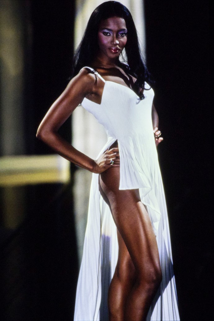 Naomi Campbell at Versace '95.