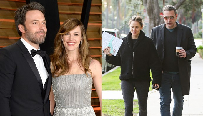 "***Jennifer Garner and Ben Affleck*** <br><br> Affleck and Garner ended their relationship after 10 years of marriage, but are still close co-parents for their children Violet, Seraphina and Samuel. Don't think there's any chance they'll get back together, though—Garner is reportedly in a relationship with businessman and tech CEO [John Miller](https://www.harpersbazaar.com.au/celebrity/jennifer-garner-john-miller-17543|target=""_blank"")."