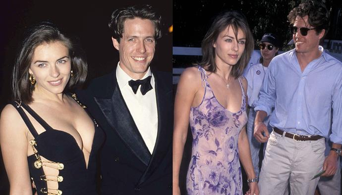"***Elizabeth Hurley and Hugh Grant*** <br><br> Hurley and Grant's relationship saw no shortage of turmoil (who could forget *that* cheating scandal?), but Hurley has confirmed she's still close with Grant and his new wife, Anna Eberstein. She told *[Grazia](https://graziadaily.co.uk/celebrity/news/elizabeth-hurley-luxe-issue/|target=""_blank""
