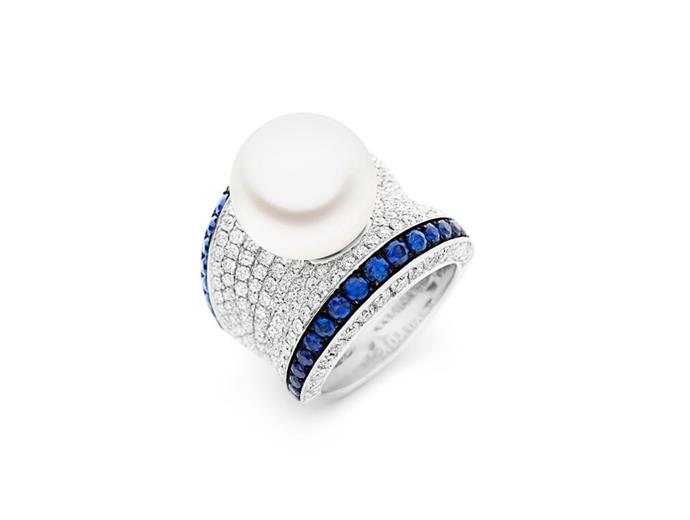 "**The Vibe: Subtle Sapphires** <br><br> Blue adored ring, $28,995 at [Kailis](https://www.kailisjewellery.com.au/blue-adored-ring.html|target=""_blank""