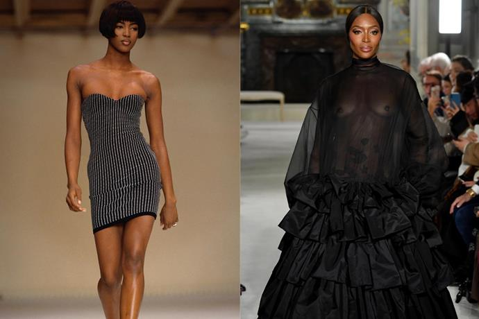 **11. Naomi Campbell** <br><br> Few other models have the experience, success and industry reputation that Naomi Campbell does—and at the age of 48, the British supermodel still often walks the runway (most recently for Valentino's spring/summer '19 couture collection). <br><br> ***Net worth: $60 million***