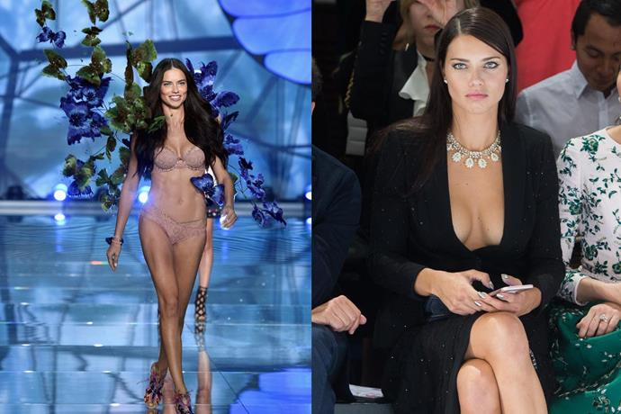 **8. Adriana Lima** <br><br> Like Alessandra Ambrosio, Lima has become one of Brazil's most famous modelling exports, juggling an illustrious Victoria's Secret career with working as a television host, and countless brand endorsement deals. <br><br> ***Net worth: $85 million***