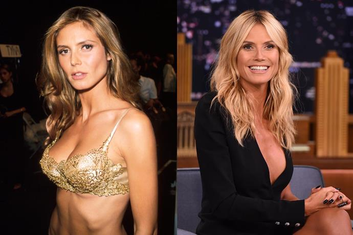 **7. Heidi Klum** <br><br> Klum first appeared on the Victoria's Secret runway in the late '90s (and became a certified 'Angel' not long after), but it's her television career that's helped increase her fortune—having hosted shows like *America's Got Talent* and *Project Runway*. <br><br> ***Net worth: $90 million***