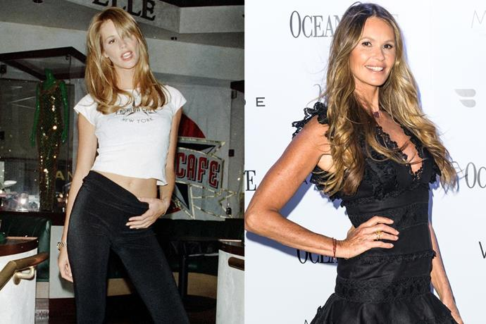 **5. Elle Macpherson** <br><br> After growing up on Sydney's North Shore, Macpherson's life completely changed when she decided to pursue modelling work in New York City as another way to pay her bills. Aside from a madly successful career, she's released a highly successful series of workout videos, as well as her own fashion, swimwear and wellness labels. <br><br> ***Net worth: $90 million***